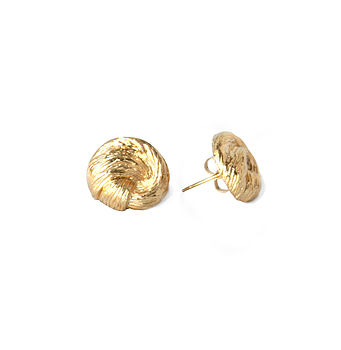 Retro Knotted Stud Earrings