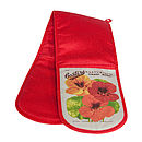 Nasturtium Double Oven Gloves