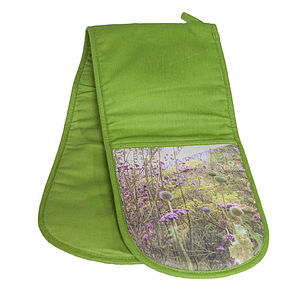 Meadow Double Oven Gloves - kitchen accessories