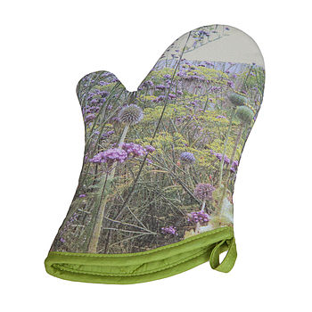Pair Of Meadow Oven Mitts