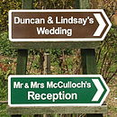 Wedding & Reception Signs