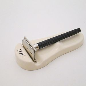 Personalised Shaving Razor Rest - men's grooming