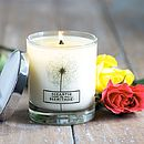 Rose And Neroli Natural Wax Scented Candle