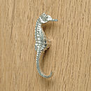 Seahorse Right Facing Cupboard Handle, Drawer Pulls