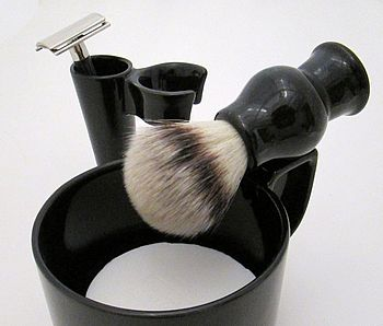Ceramic Shaving Cup Gift Set