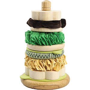 Sensory Rich Toy Stacking Hoops