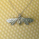 Honey Bee Necklace, Bee Gifts