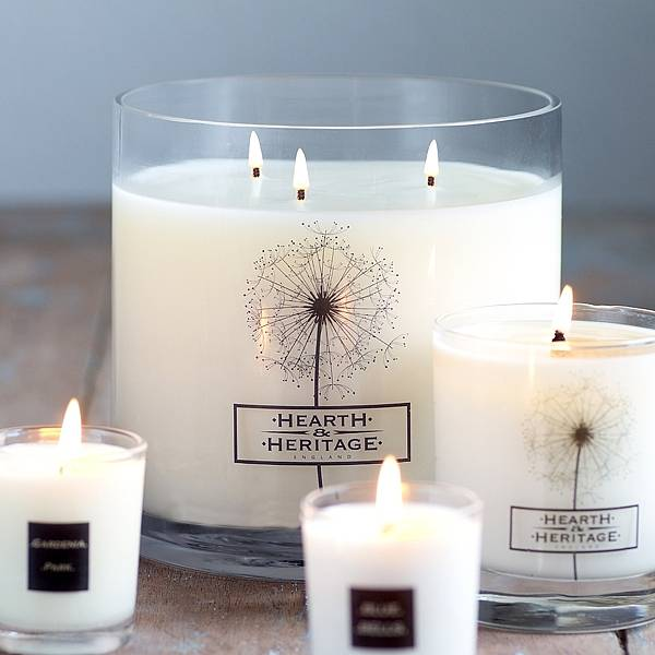 Multi wick scented candle by hearth heritage for How to scent candles