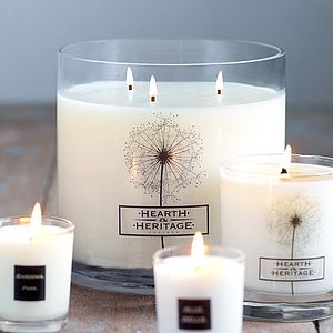Multi Wick Scented Candle - tableware