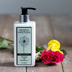Rose And Neroli Body And Hand Lotion - bathroom