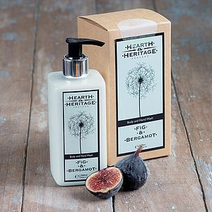 Fig And Bergamot Body And Hand Wash - bathroom