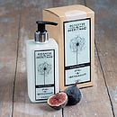 Fig And Bergamot Body And Hand Wash