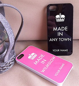'Made In' Case For IPhone/Ipod Touch - women's accessories