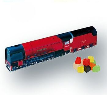 Train Tin Filled With Sweets