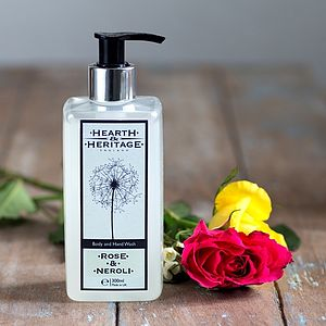 Rose And Neroli Body And Hand Wash - soaps