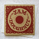 'You're The Jam In My Doughnut' Card