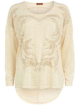 50% Off On Beige Jumper From Gbp 24 To Gbp12