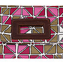 Stephanie Stained Glass Design Clutch Bag