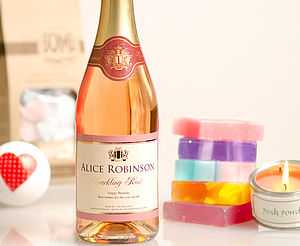 Personalised Pink Hamper - christmas parties & entertaining