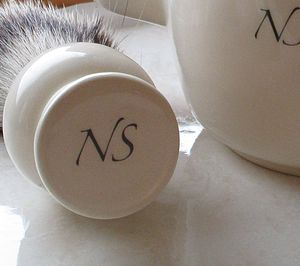 Personalised Badger Hair Shaving Brush - men's grooming