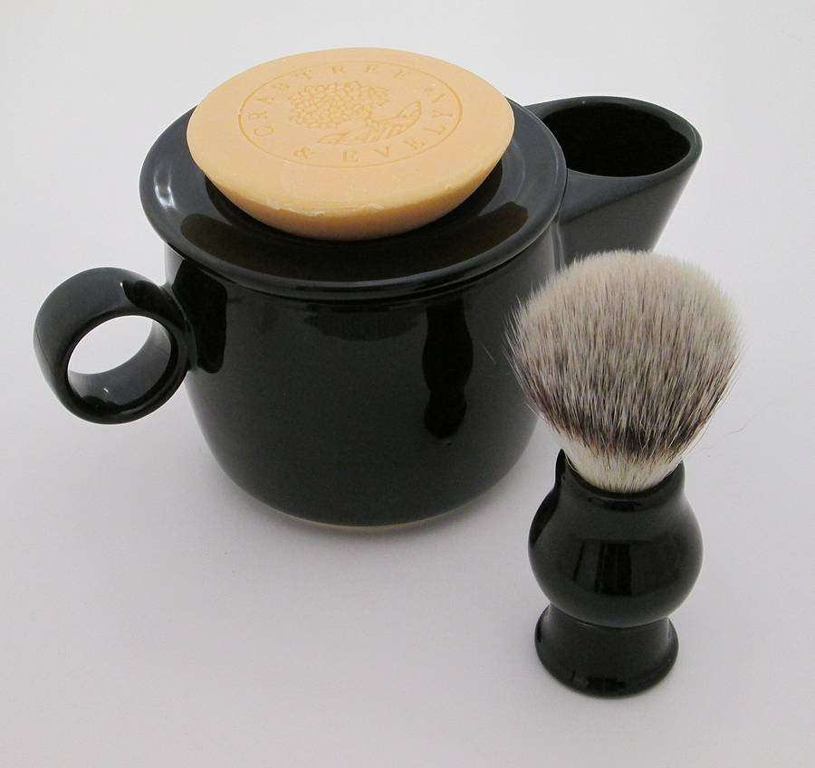 Shaving Scuttle Mug Bowl By Sculpta Ceramics