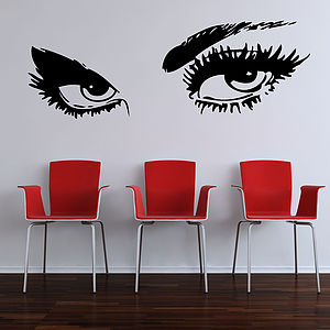 Eyes Wall Stickers - living room