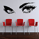 Eyes Wall Stickers