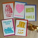 Pack Of Five Assorted Greeting Cards