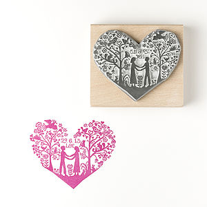 Personalised You And Me Stamp