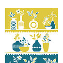 Flower Shop Window Screen Print