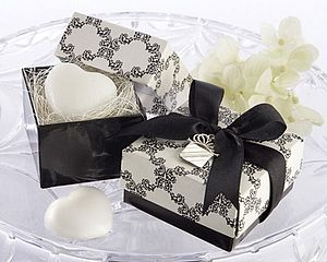 'Sweet Heart' Heart Shaped Scented Soap - wedding favours