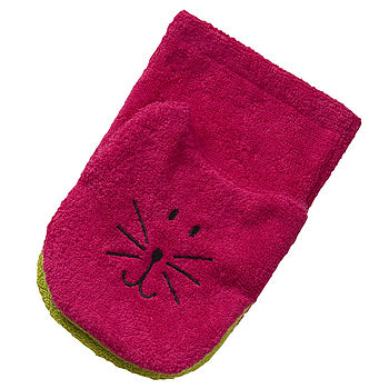 Pink Tiger Wash Cloth