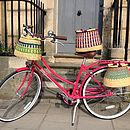 Handmade Pot Ghanaian Bicycle Basket