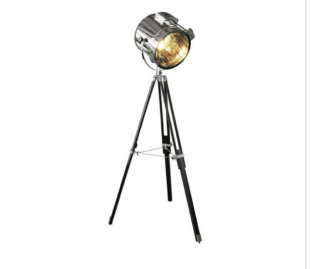 standing tripod hollywood industrial floor studio lamp by ...
