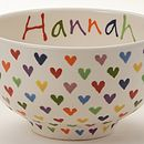 Love Hearts Bowl Detail