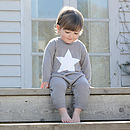 Organic Bamboo Knitted Baby Bodysuits