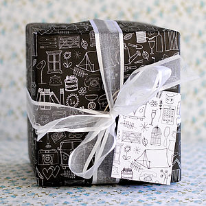 Illustration Wrapping Paper - view all sale items