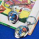 Comic Super Hero Keyring