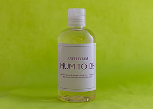 Mum To Be Bath Foam - bathroom