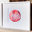 Tunnocks Teacake Foil Art Print