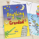 Personalised I'd Do Anything For You Book
