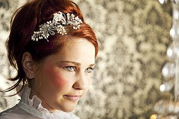 Adaline Bridal Headdress Side Tiara