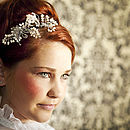 Adaline Bridal Headdress Side Tiara