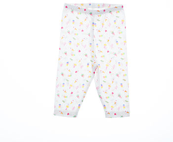 Girl's Summer Lolly Print Leggings