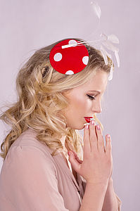 Toadstool Fascinator