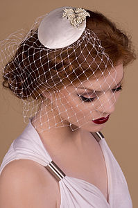 Wedding Leaf Bridal Fascinator - hats, hairpieces & hair clips