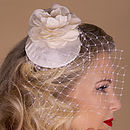 Vintage Inspired Rose Beauty Fascinator