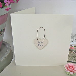 'Best Mum' Handmade Card
