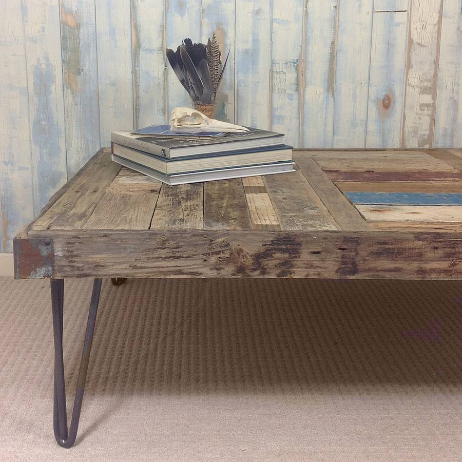 bleached coffee handmade table made by sun custom decor driftwood