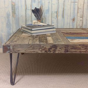 Bespoke Driftwood Coffee Table - furniture